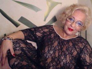 Blonde 1stylegranny perform cameltoe