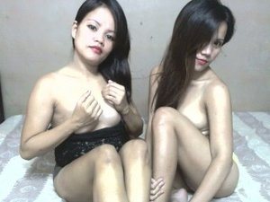 Brunette Maya and Brunette Teen Jade Oil.