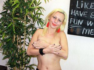 White milf with big tits