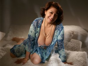 White mature big tits